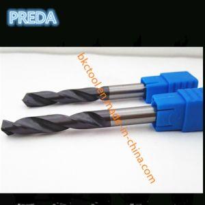 Preda Carbide Twist Drill Bits HRC60 Cutting Tool pictures & photos