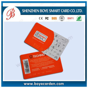 ISO14443A 13.56MHz Contacless RFID Barcode Plastic IC Membership Card pictures & photos