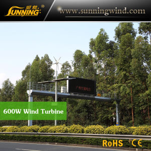 Residential Wind Generator 600W Wind Turbine Permanent Magnet Generator Home Use pictures & photos