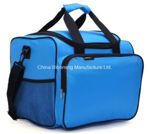 40 Can Large Capacity Blue Cooler Thermal Lunch Insulated Bag for Picnic pictures & photos
