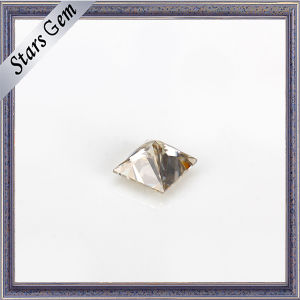 Square Glamour Princess Cut White Synthetic Moissanite pictures & photos