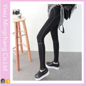 2016 Latest Design Cotton High Elestic Girl′s Sport Yoga Pants pictures & photos