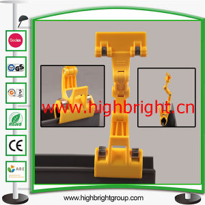 Retailing Plastic Pop Clip on Sign Holder for Supermarket Promotion pictures & photos