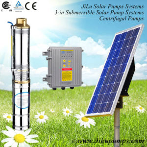 300W-1500W Solar Powered Brushless DC Pump, Stainless Steel Deep Well Submersible Pump pictures & photos