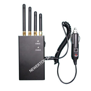 Handheld 3G Mobile Phone Signal Jammer Blocker/WiFi Jammer pictures & photos