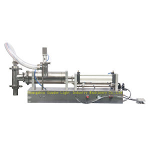 Semi-Auto Shampoo Filling Machine with Pneumatic Controlling pictures & photos