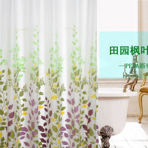 Hot Sale High Quality Hotel Waterproof Shower Curtain pictures & photos