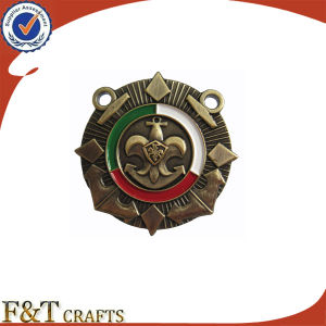 Customized Metal Badges with Filling Color pictures & photos