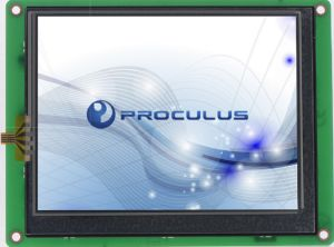3.5′′ 320*240 LCD Module with Resistive Touch Screen for Industrial Control Use