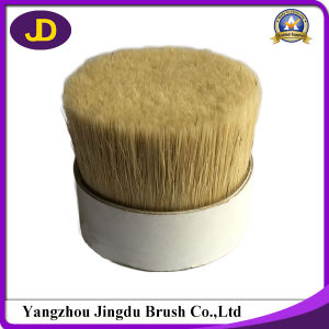 Natural and High Quality White Boiled Bristle 90% Tops pictures & photos