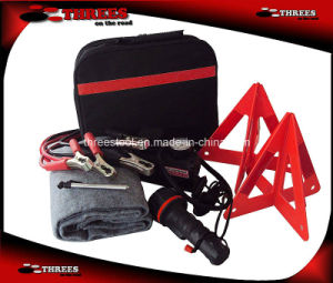 Emergency Auto Kit with Double Warning Triangle (ET15034) pictures & photos