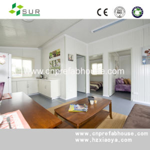 with Bathroom Design Prefab Two-Storey Container House pictures & photos