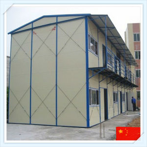 Cheap Prefabricated Steel Frame Structure Apartment pictures & photos