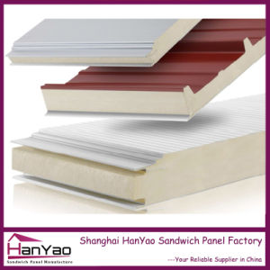 Thermal Insulated Polyurethane PU Sandwich Panel for Roof/Wall pictures & photos