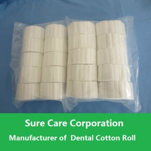 Disposable Absorbent Dental Cotton Roll for Medical Use pictures & photos