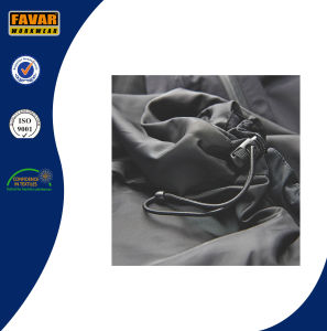 Nylon Waterproof Rain Jacket with Detached Padded Lining pictures & photos