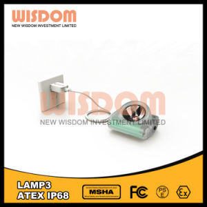 Wisdom Lamp3 Ce LED Cordless Mining Lamp with 12000lux 60hours pictures & photos