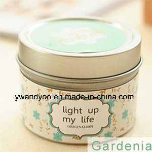 Romantic Scented Tin Candles as Wedding Gift