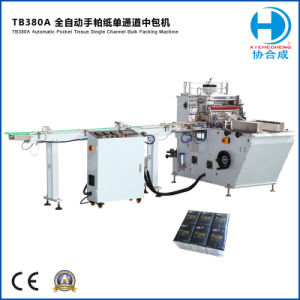 Tb 380A Automatic 10 in 1 Handkerchief Tissue Packing Machine pictures & photos