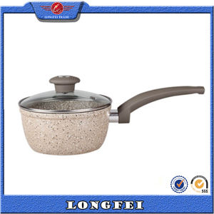 China Wholesale Best Selling Milk Pot with Non-Stick Coating pictures & photos