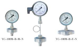 Diaphragm Sealed Stainless Steel Pressure Gauge