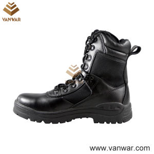 Durable Waterproof Military Tactical Boots of Black (WTB002) pictures & photos