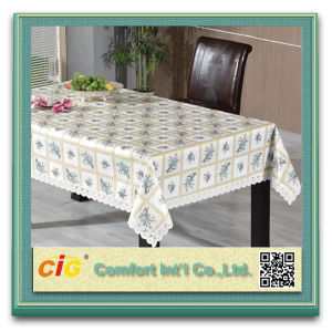 Print Design PVC Vinyl Tablecloth Pieces pictures & photos