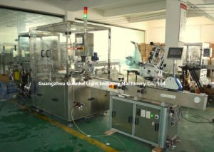 Automatic Pharmaceutical Liquid Filling Capping Machine with Labeling Line pictures & photos