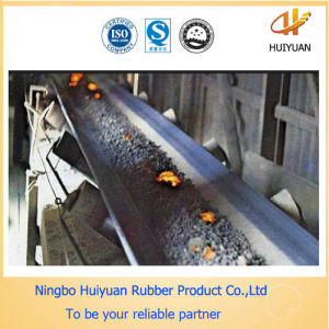 T180 High Heat Resistant Rubber Conveyor Belt pictures & photos