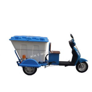 500W/800W Electric Cleaning Tricycle, Electric Mobility Scooter, Electric Bike/Bicycle pictures & photos