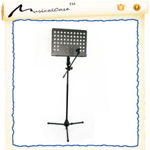 2016 Good Quality Metal Mic Stand with Music Sheet Stand pictures & photos