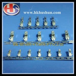 Custom Hardware Stamping Male and Female Brass Terminal (HS-DZ-0060) pictures & photos