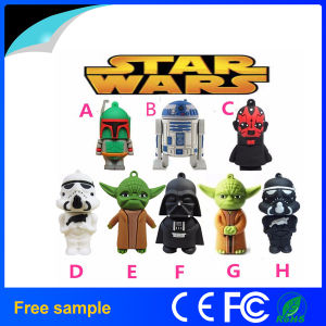2016 Hotsale New Product Star Wars USB Flash Drive (JV1130) pictures & photos