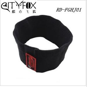 Safety Police Anti-Cutting Proof Black Kevlar Neck Guard