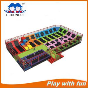 Factory Price Trampoline Park Indoor Commercial Cheap Trampoline for Sale Txd16-10701 pictures & photos
