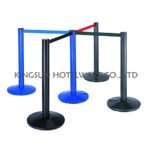 Aluminum Crowd Control Barrier with Retractable Belt for Public Place (BP-204) pictures & photos