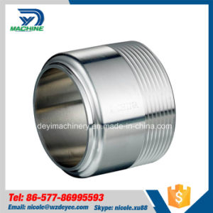 Sanitary Stainless Steel NPT Male Thread Pipe Adapter pictures & photos