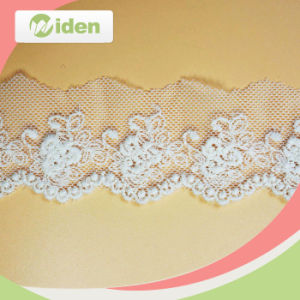 Professional QC Team Promotional Eco Friendly Net Embroidery Lace pictures & photos