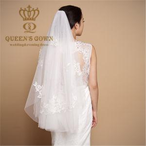 Bone Flower Lace Short Veil - Wedding Accessories pictures & photos