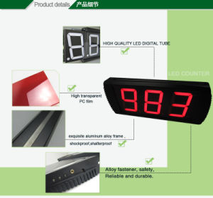 [Ganxin] White Color LED Counter LED Countdown Crossfit Timer pictures & photos