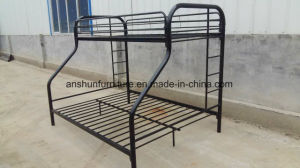 Jas-043 Wholesale Metal Round Frame Triple Bunk Bed for School Dormitory pictures & photos