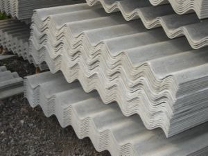China Corrugated Roofing Tile Sheets Types Material Fiber