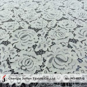 Ivory Scalloped Bridal Lace Wholesale (M3407-G) pictures & photos