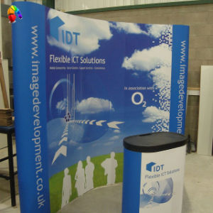 Expo Pop up Display Stand with Exhibition Counter (BC-RBD45) pictures & photos