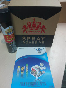 Clear Adhesive Spray for Cloth pictures & photos