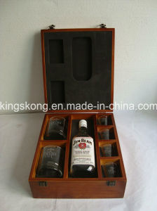 High Quality Custom Wholesale Wooden Wine Gift Box pictures & photos