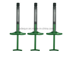 1ml Prefillable Syringe for Hyluronic Acid (green color) pictures & photos