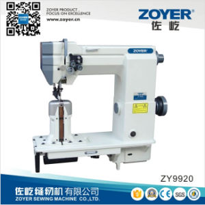 Zy9920 Double Needle Post Bed Lockstitch Industrial Sewing Machinery pictures & photos