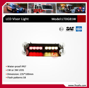 LED suction  Cup LED Warning Dash Light (LTDG81W) pictures & photos