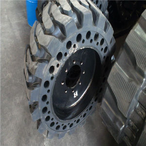Skid Steer Loder Bobcat Solid Tire (33X6X11) pictures & photos